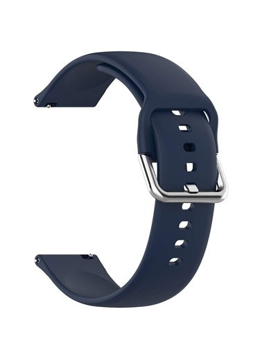 Microsonic Huawei Watch GT2 46mm Silikon Kordon Lacivert Lacivert